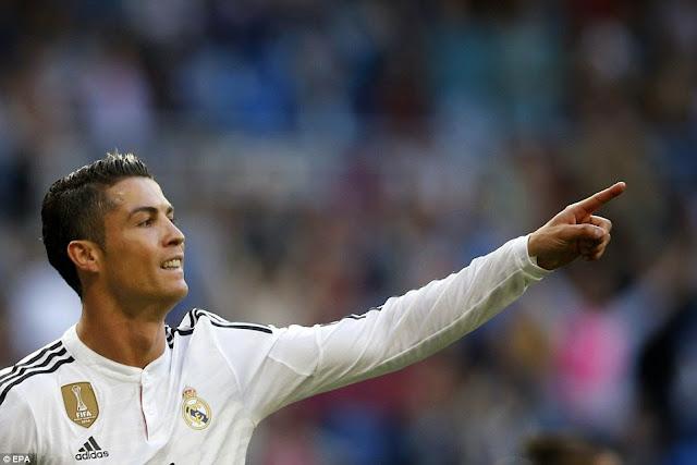 Kumpulan 48 Goal Cristiano Ronaldo musim 2014/2015
