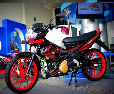Suzuki New Satria FU Terbaru 2013