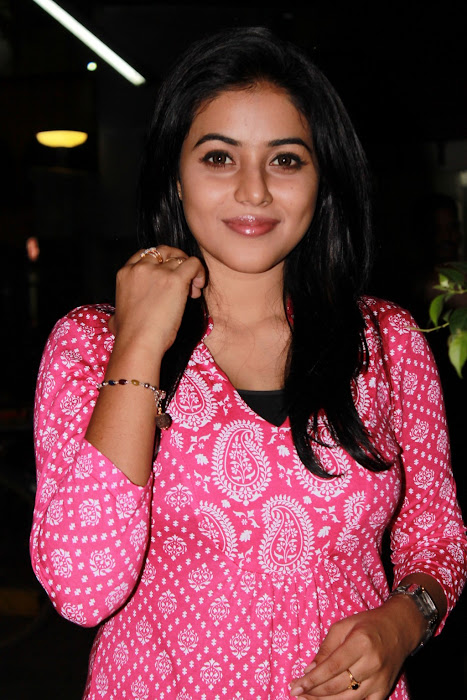 poorna @ viththagan movie press event
