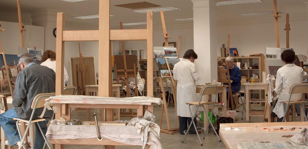 Antonio v zquez escuela de pintura for Calle prado redondo ciempozuelos