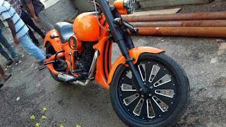 Bala Krishna New Movie Legend Special Bike Photos