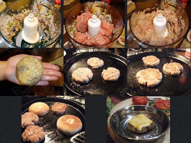 ... memories -- Echo's Kitchen: Toddler Meal -- Mini Turkey Bagel Burger