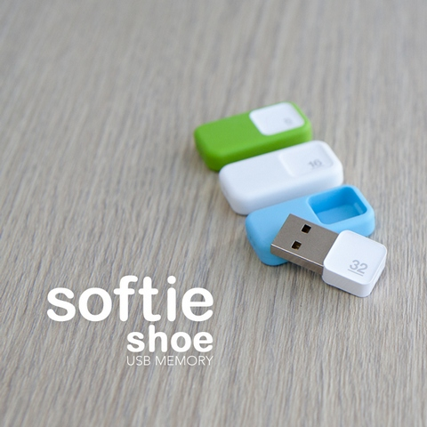 Shoe USB flash drive