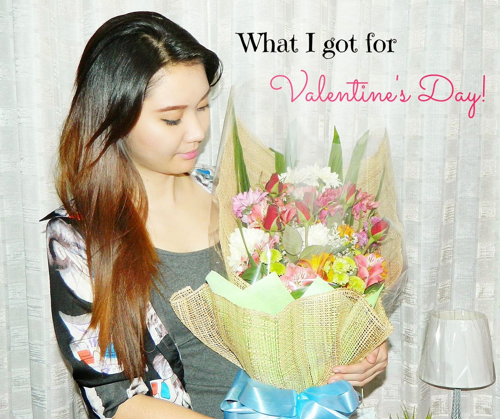 flowers what i got for valentines day chocolates roses bouquet sweet gift cake sweets review diary experience