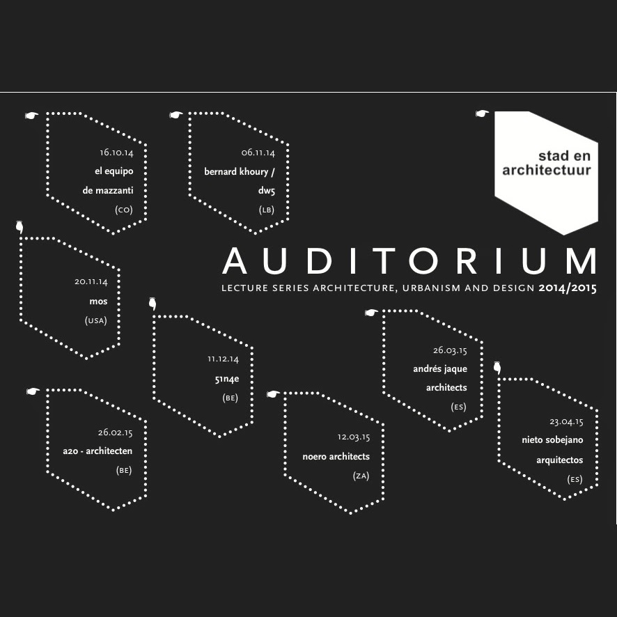 AUDITORIUM LECTURES SERIES 2014-15