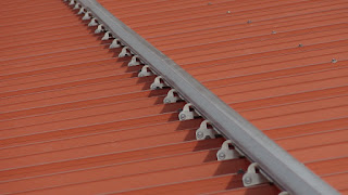 Solar Panel Mounting Rails - Aluminum