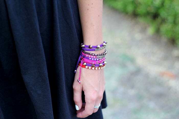 colorful bracelets, DIY bracelets