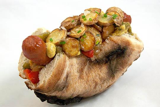 Hot Diggity Introduces NJ Italian Hot Dog on Pizza Bread