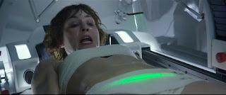 surgery scene, self surgery, sci fi surgery, alien abortion, cesaerean section