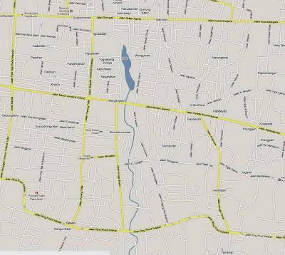 Peta Yogyakarta Selatan