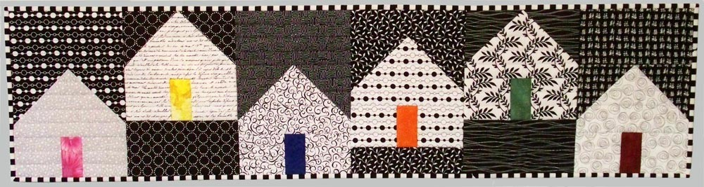 Quilt inspiration simple modern shapes esch house quilts for Modern house quilt block