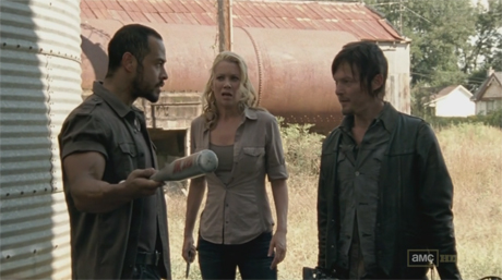 The Walking Dead 3x13 - Arrow on the Doorstep