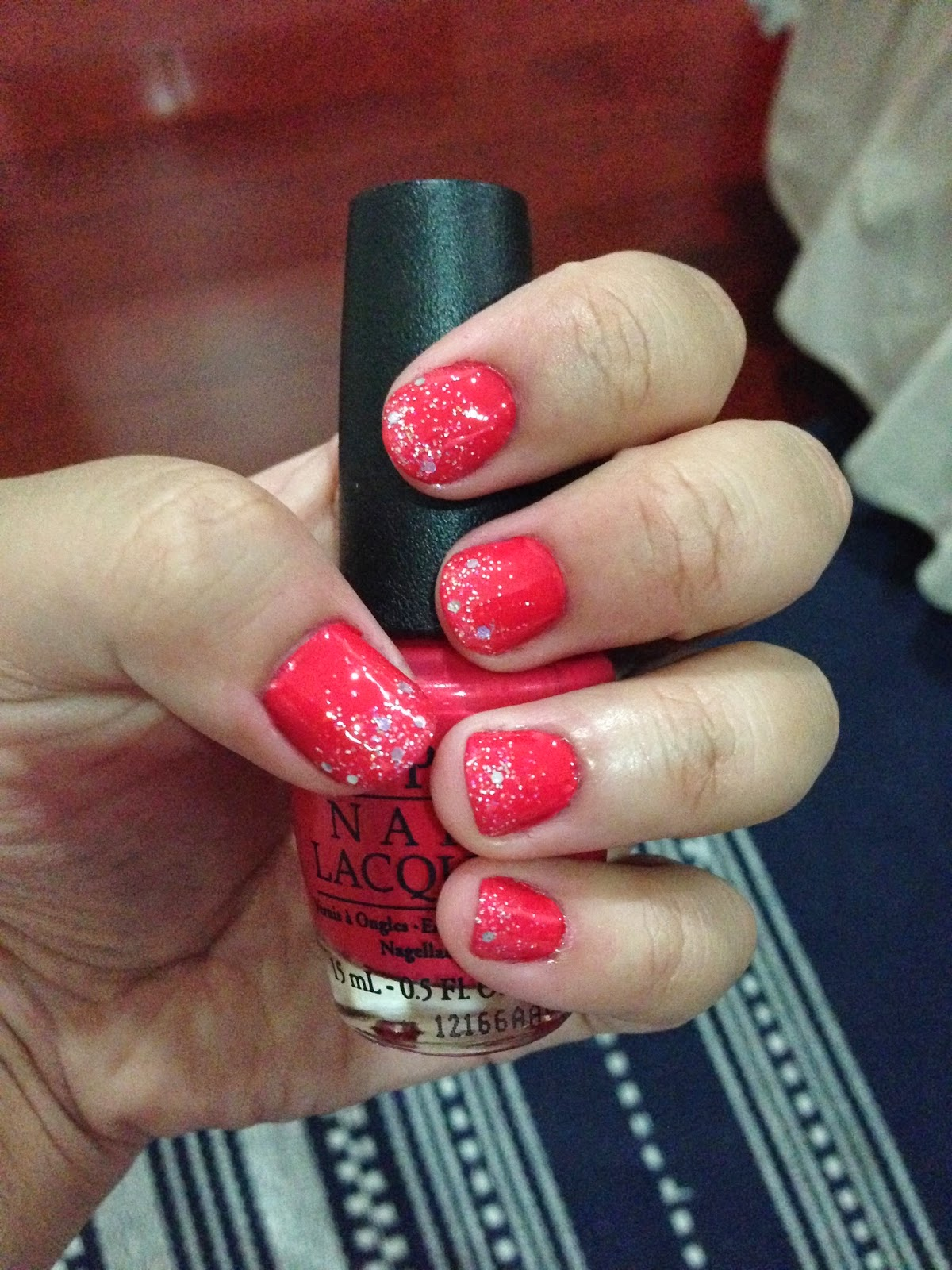 OPI On Collins Ave Swatch + Revlon Stunning (340)