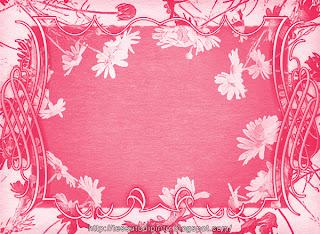 Illustrazione grafica con margherite: invito stampabile in rosa