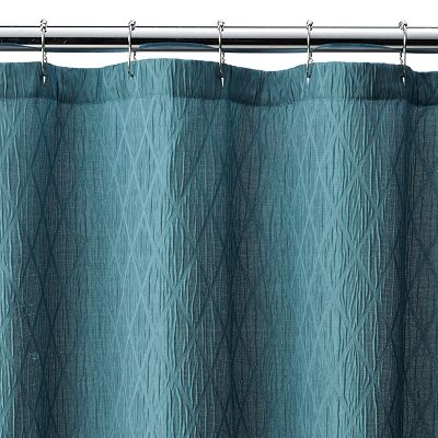 Croft Barrow Julia Geometric Shower Curtain