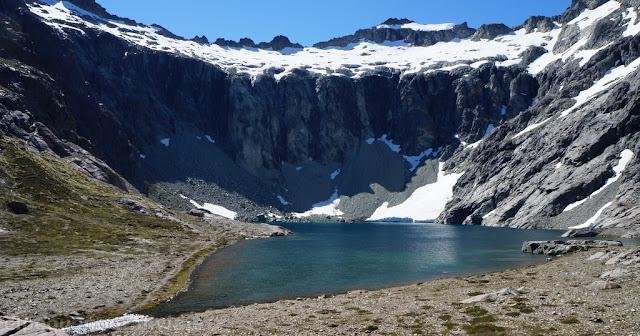Paredon, Laguna Tempanos, glaciar