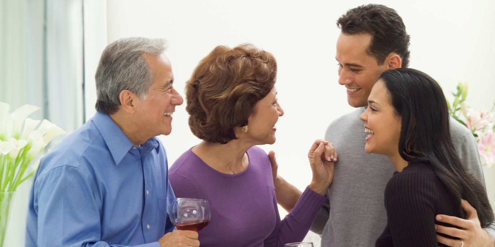 Если у вас серьезные отношения, рано или поздно придется познакомиться с родителями избранника
