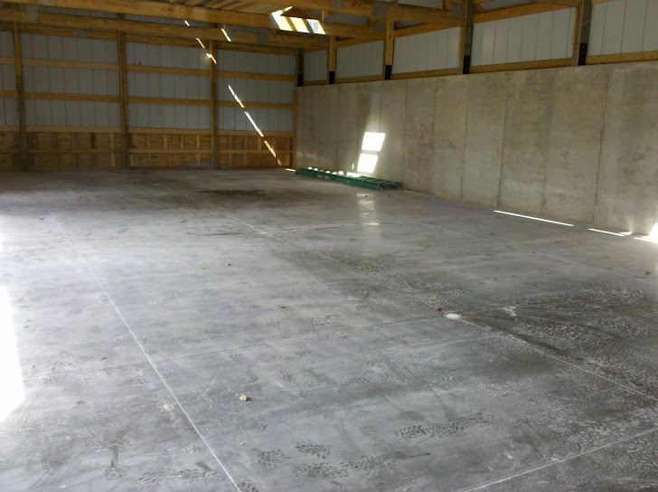 Residential barn floor