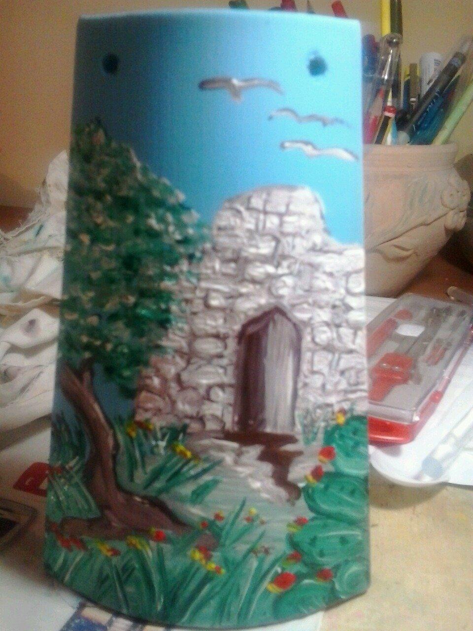 tegola dipinta