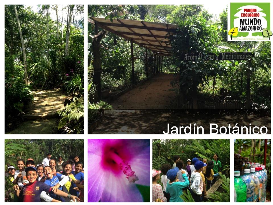 Amazonia park atractivos for Jardin botanico conciertos