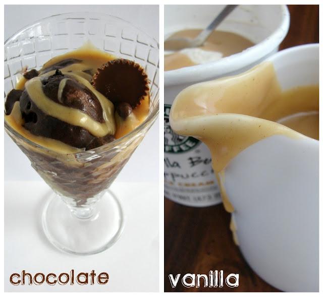 Peanut Butter Ice Cream Topping #recipe from @KatrinasKitchen at www.inkatrinaskitchen.com