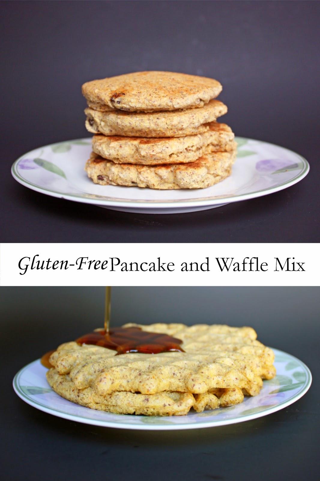 gluten-free pancake and waffle mix