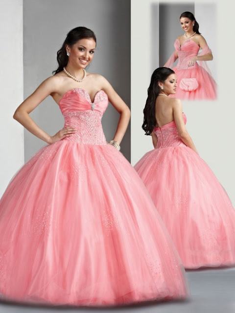 Plus Size Ball Gown Prom Dress