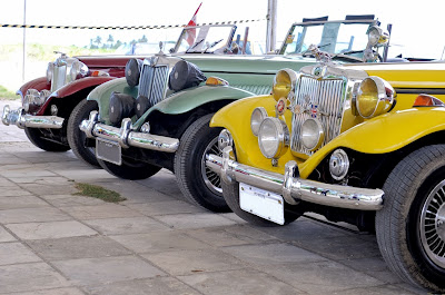 Pela primeira vez um evento de carros antigos no estado consegue reunir 13 MPs.