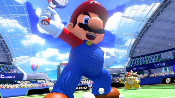 Se presentan nuevos personajes de Mario Tennis Ultra Smash 1
