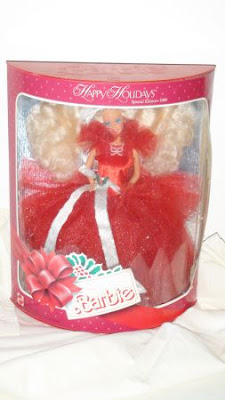 1988 Holiday Barbie doll