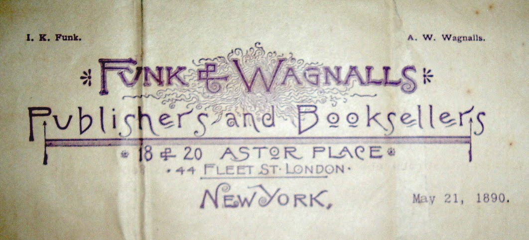 bibliophemera  a pivotal year for funk  u0026 wagnalls