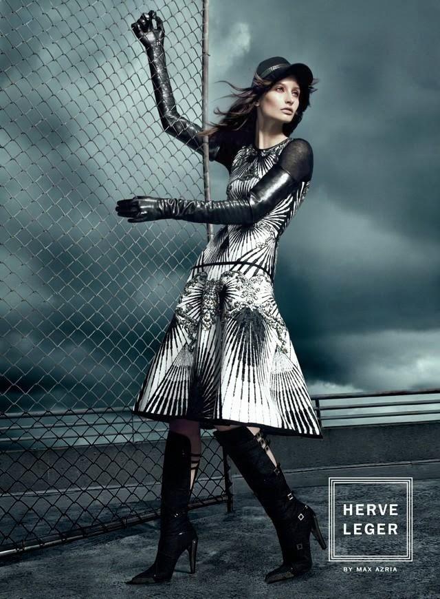 Hervé Léger by Max Azria Fall Winter 2013 Ad Campaign