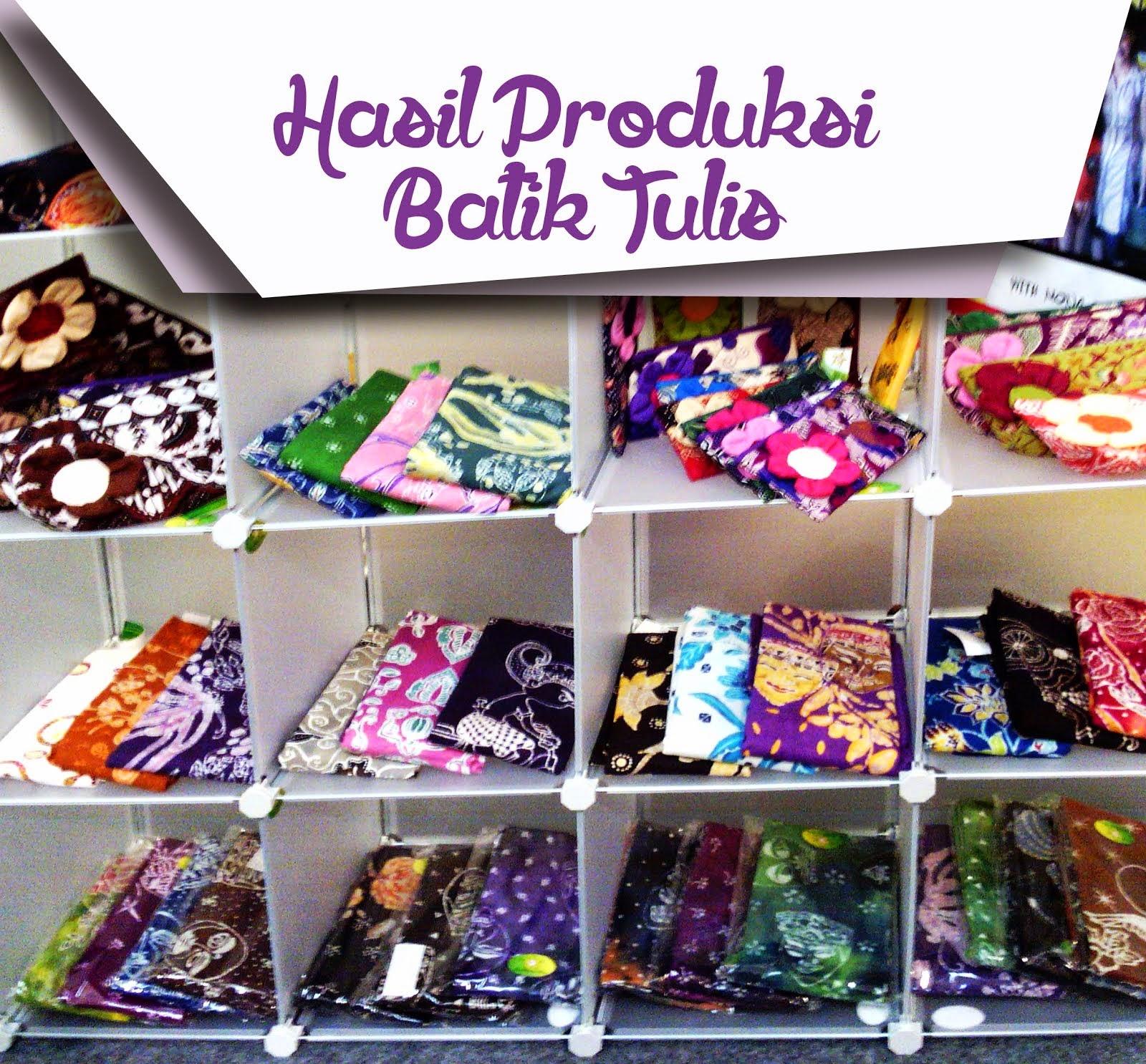 Hasil Produksi Batik Tulis