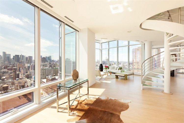 World of Architecture: Penthouses: Interiors Of Duplex In Astor ...