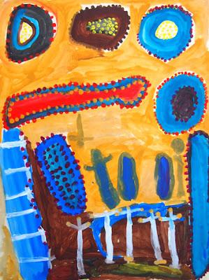 Art Aborigène : Wanurtu Peanut Ford