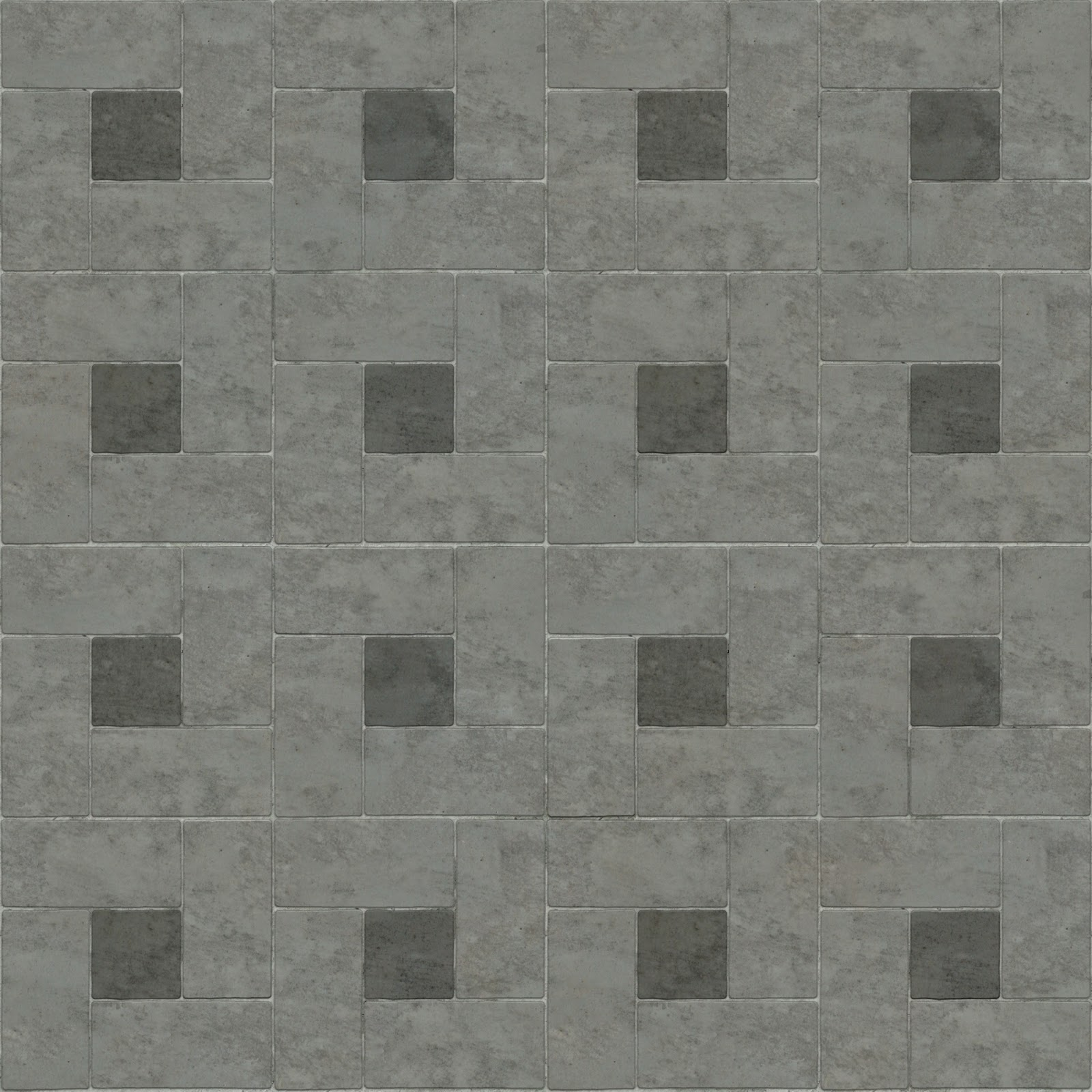 Brick Pavement Tile Floor Seamless Texture 2048x2048