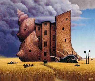 Сказочный сюр от иллюстратора Яцека Йерки (Jacek Yerka)
