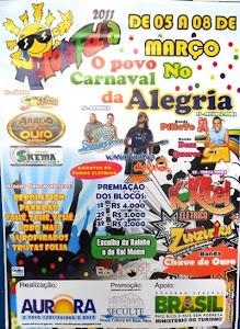 Venha participar do maior Carnaval de rua do Cariri