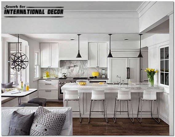 Combined Kitchen Living Room Design Ideas ~ Top tips to design living room with kitchenette