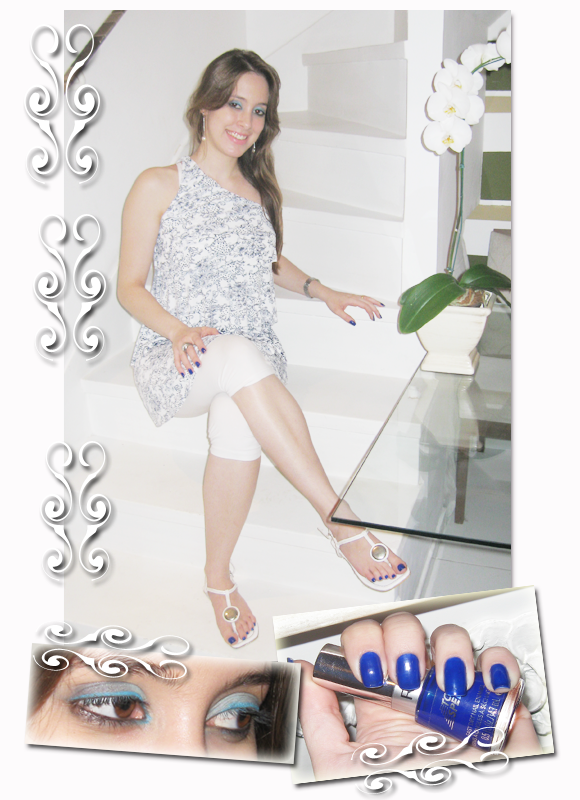 Esmalte azul royal