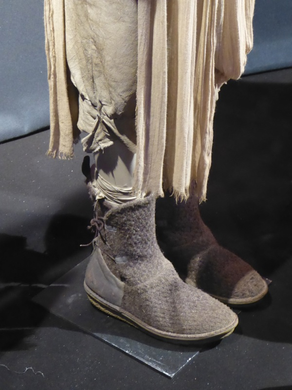 Star Wars Force Awakens Rey wool leather boots