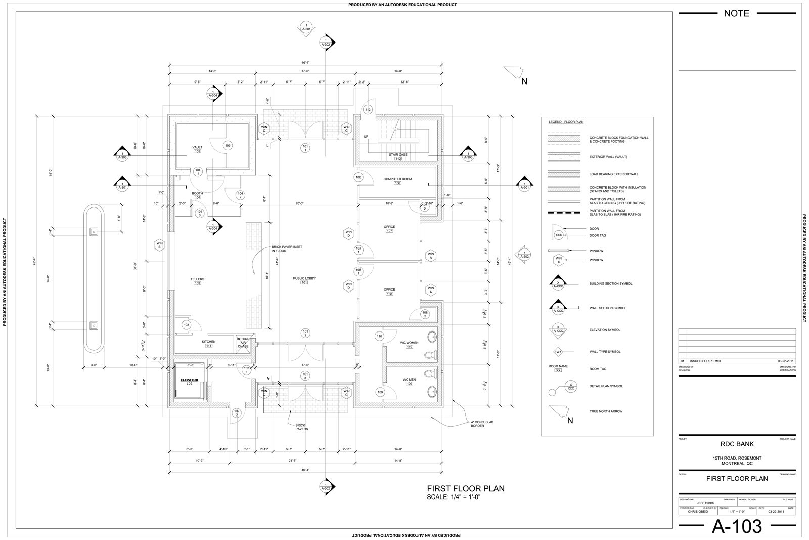 Foundation Plan Drawings