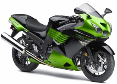 If they were in modern times.... 2011-Kawasaki-Ninja-ZX-14-green