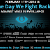 INTERNET PROTEST GROUPS Will Fight Back FEBRUARY 11TH 2014