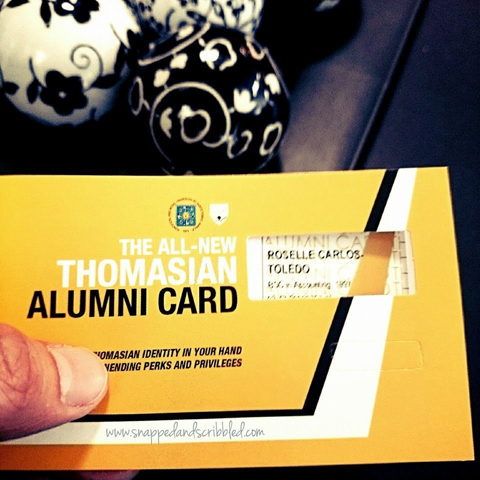 How To Apply For UST Alumni Card and its Perks and Privileges (updated 23 Jul 2015)