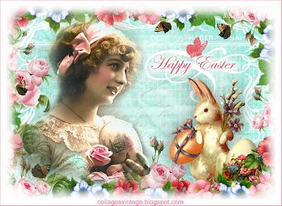Imágenes vintage Pascua