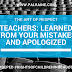 Teachers: Learned From Your Mistakes and Apologized #DepED #RightsofChildreninSchool