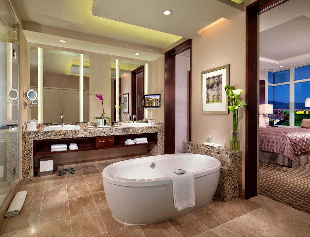 decor your bathroom with modern and luxury bathroom ideas - house