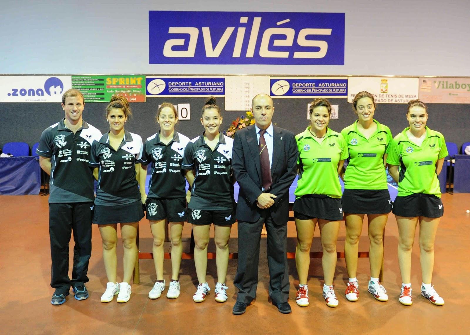 Federaci n de tenis de mesa del principado de asturias diciembre 2014 - Aviles tenis de mesa ...