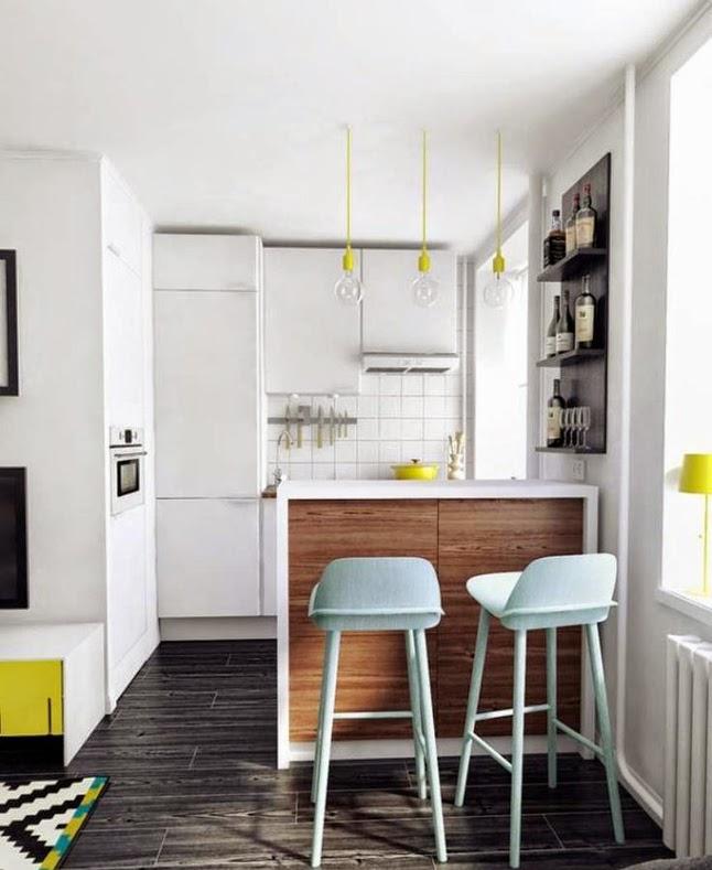 Ideas deco cocinas abiertas en espacios peque os sorteo for Cocinas en espacios pequenos